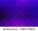 light purple vector texture... | Shutterstock .eps vector #1280110813