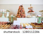 delicious candy bar for special ... | Shutterstock . vector #1280112286