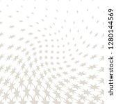 geometric halftone vector...   Shutterstock .eps vector #1280144569