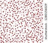 vector seamless pattern.... | Shutterstock .eps vector #1280156029