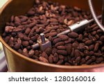 chocolate making process the... | Shutterstock . vector #1280160016