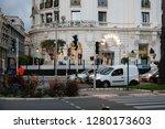 nice  france   september 23 ...   Shutterstock . vector #1280173603