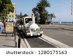 nice  france   september 19 ...   Shutterstock . vector #1280175163