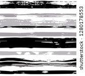 vector hand drawn paint stripe... | Shutterstock .eps vector #1280178553
