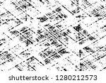 rough grunge pattern design.... | Shutterstock .eps vector #1280212573