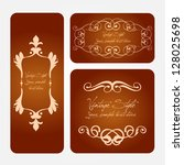 classic vintage labels | Shutterstock .eps vector #128025698