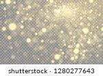 golden lights effect isolated... | Shutterstock .eps vector #1280277643