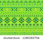 navajo american indian pattern... | Shutterstock .eps vector #1280283706
