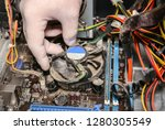 inside details of the old... | Shutterstock . vector #1280305549