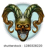 detailed graphic realistic... | Shutterstock .eps vector #1280328220
