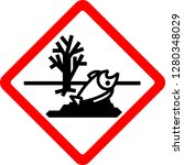 dangerous to the environment ... | Shutterstock .eps vector #1280348029