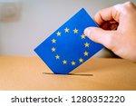 election in european union  ... | Shutterstock . vector #1280352220