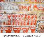 dambulla  sri lanka   aug 9 ... | Shutterstock . vector #1280357110