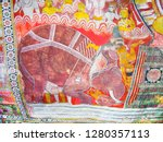 dambulla  sri lanka   aug 9 ... | Shutterstock . vector #1280357113