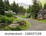 Crow Creek Mining Camp....