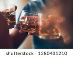 A Toast With Whiskey