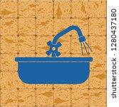 plumbing work symbol icon.... | Shutterstock .eps vector #1280437180