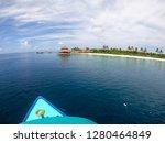 sailing around the amazing... | Shutterstock . vector #1280464849