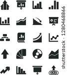 solid black vector icon set  ... | Shutterstock .eps vector #1280468866
