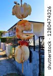 street sea food in lido delle... | Shutterstock . vector #1280474326