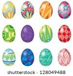 Illustration Of Twelve Easter...