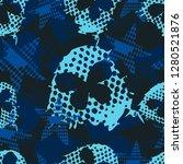 abstract seamless grunge sport... | Shutterstock .eps vector #1280521876