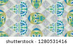 seamless folk background.... | Shutterstock .eps vector #1280531416