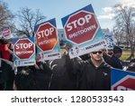 washington  dc   jan. 10  2019  ... | Shutterstock . vector #1280533543
