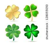 Set Of Four Leaf Clovers...
