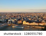 budapest aerial view from... | Shutterstock . vector #1280551780