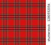 tartan plaid. scottish pattern... | Shutterstock .eps vector #1280552056
