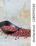nutritious red beans | Shutterstock . vector #1280555260