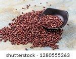 nutritious red beans | Shutterstock . vector #1280555263