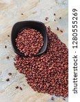 nutritious red beans | Shutterstock . vector #1280555269