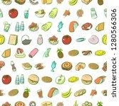various images set. background... | Shutterstock .eps vector #1280566306