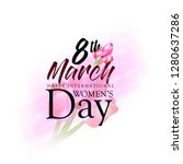 international women's day ...   Shutterstock .eps vector #1280637286