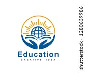 education logo template | Shutterstock .eps vector #1280639986