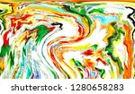 colorful abstract pattern for... | Shutterstock . vector #1280658283