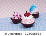 Little Baby Cupcakes In Baby...