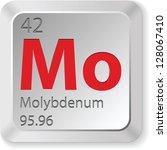 molybdenum element   Shutterstock . vector #128067410