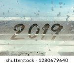 happy new year 2019 background | Shutterstock . vector #1280679640