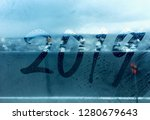 happy new year 2019 background | Shutterstock . vector #1280679643