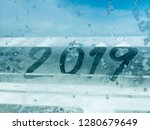 happy new year 2019 background | Shutterstock . vector #1280679649