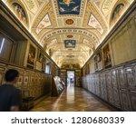 vatican   oct 16  2018. inside... | Shutterstock . vector #1280680339
