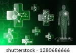 abstract background technology... | Shutterstock .eps vector #1280686666