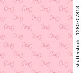 vector seamless pattern with... | Shutterstock .eps vector #1280707813