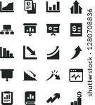solid black vector icon set  ... | Shutterstock .eps vector #1280708836