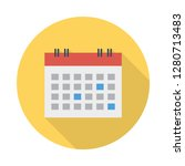 calendar   date  month   | Shutterstock .eps vector #1280713483