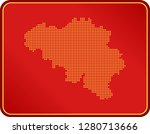 map of belgium | Shutterstock .eps vector #1280713666