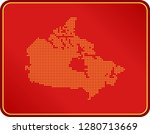 map of canada | Shutterstock .eps vector #1280713669